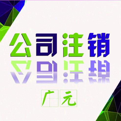 广元小规模纳税人公司注销