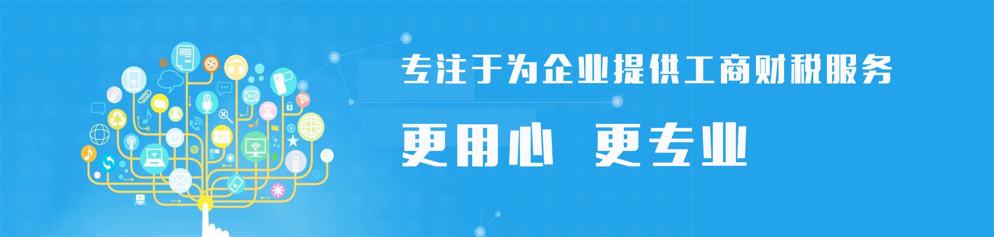 工商公司注册_代理记账报税|启冠易立财税